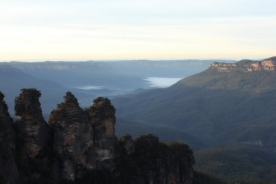 The Three Sisters early morning