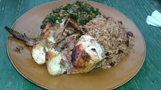 3 Dives Restaurant: Jerk chicken