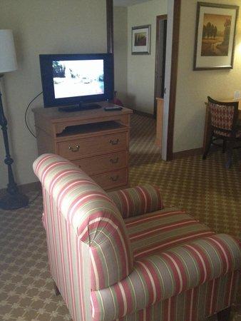 Ramada Huntsville : One of two tv