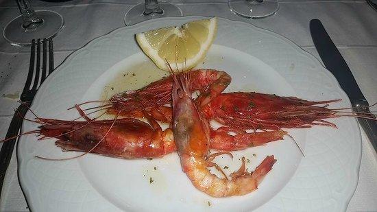 Hotel Santa Caterina : Shrimps