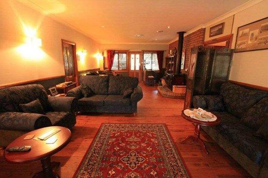 Wheelbarrow Lodge B&B : Lounge and Reception