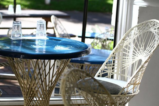 The Rising Sun Bar & Bistro: Table at window