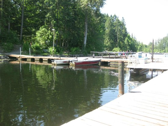 Offut Lake Resort: the lake