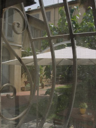 Hotel Crocini : View of The Garden from the Room