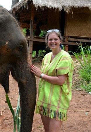 Patara Elephant Farm - Private Tours : Me and Sampoo!