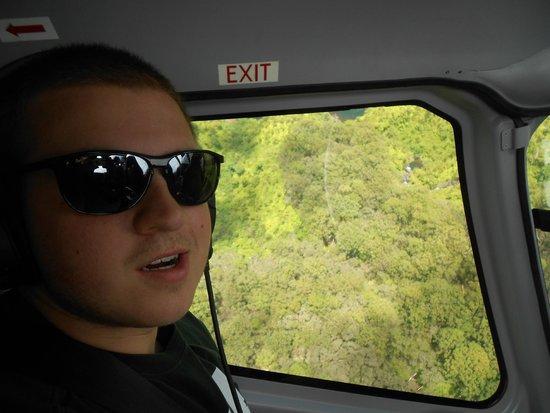 Blue Hawaiian Helicopter Tours - Maui: Enjoying the ride!