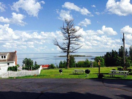 Island View Resort : View of Lake Superior