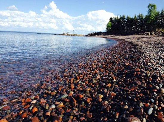 Island View Resort : Beach