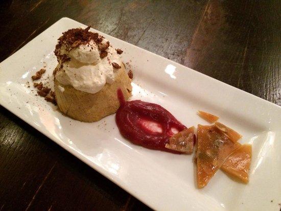 DeWolf Tavern: Pumpkin flan