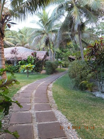 Paradise Cove Resort: Lovely gardens