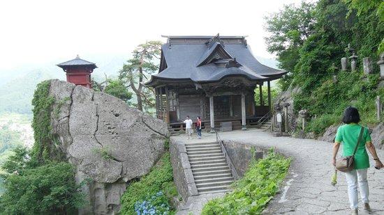 Risshaku-ji Temple: 開山堂・納経堂