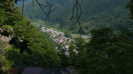Risshaku-ji Temple: 山頂からの景色