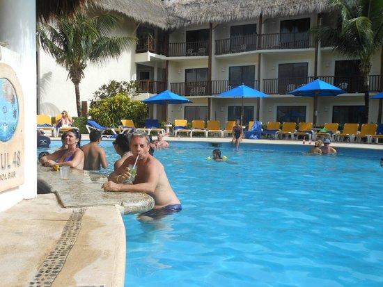 The Reef Coco Beach: calida atencion,, y muy buena comida
