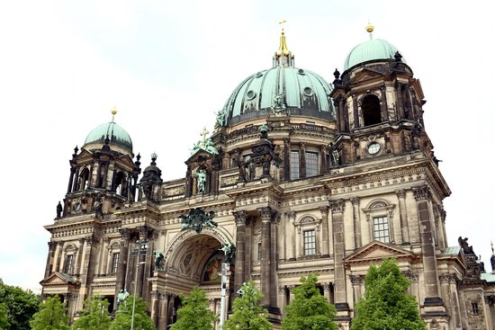 Berliner Dom: Catedral Vista Externa
