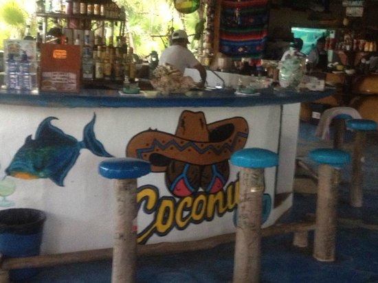Coconuts Bar and Grill : The bar at Coconuts