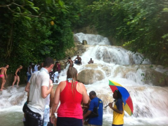 Dunn's River Falls and Park : very nice