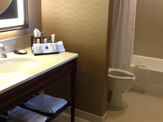 Sheraton Suites Calgary Eau Claire: Bathroom