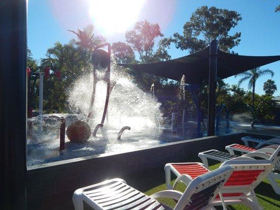 NRMA Treasure Island Holiday Resort: Water play area