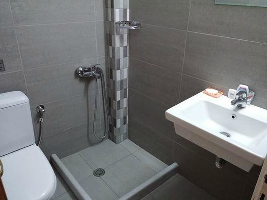 Afroditi Pansion: Bathroom detail