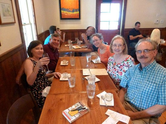 Georgia Food Tours: Roswell Food Tour with Mariel (third on right side)
