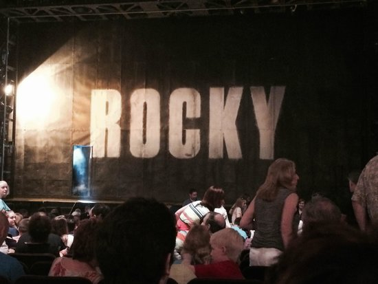 Rocky Broadway: EXCELLENT SEATS WISH I COULDVE TAKEN MORE PHOTOS BUT NOT ALLOWED..