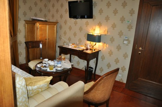 Hotel Palazzo Stern: Second room