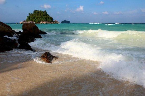 Idyllic Concept Resort: Sea was rought this Season