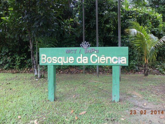 Bosque da Ciência: Entrada do Bosque