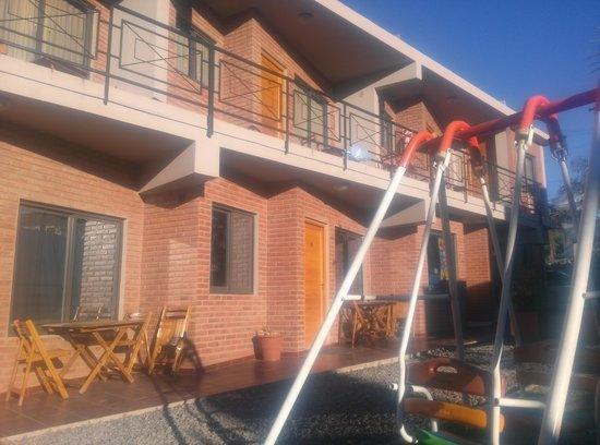 Altos del Champaquí Apart y Spa: Habitaciones