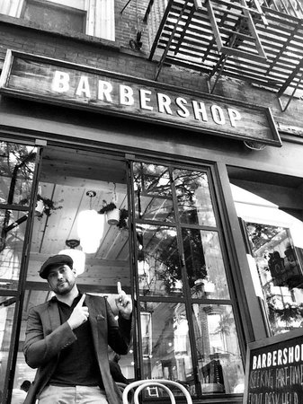 Freemans Restaurant : shave and a haircut…