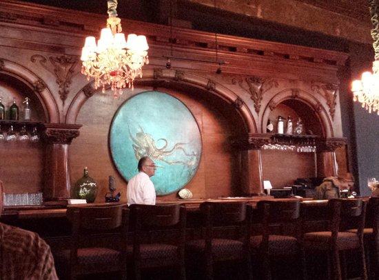 Manzanilla: The amazing built in bar