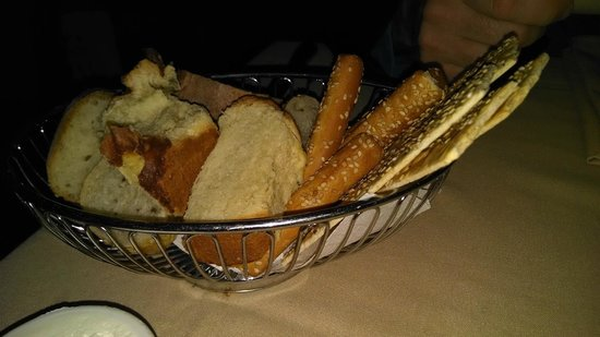 Club A Steakhouse : bread