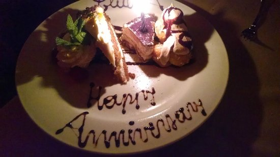Club A Steakhouse : dessert