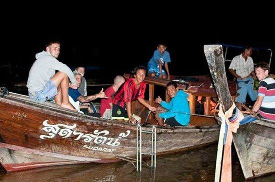 K.Y.N. Muay Thai Gym: Midnight fishing!