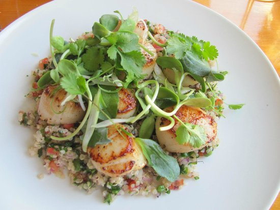 Wild Caraway: Andrew knows what to do with sea scallops