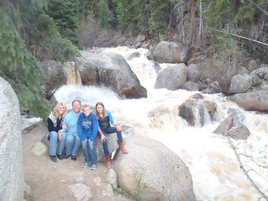 Tumbling River Ranch: Coors Waterfalls