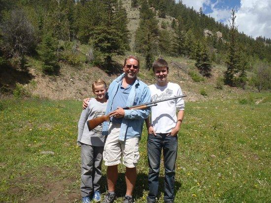 Tumbling River Ranch: Skeet Shooting