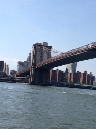 OnBoard New York Tours: Brooklyn Bridge from the Tour