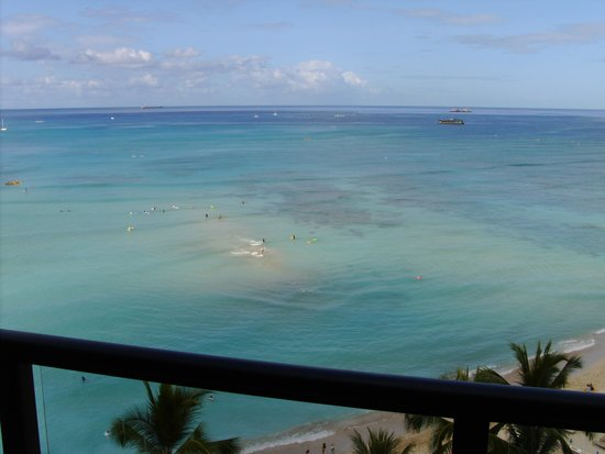 Outrigger Waikiki Beach Resort : out  the room