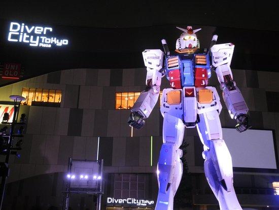 Diver City Tokyo Plaza: ガンダム1/1立像