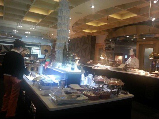 ANA Crowne Plaza Hotel Grand Court Nagoya : 最も満足感のあったレストラン