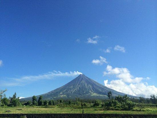 Mayon Volcano : View from Cagsawa Ruins