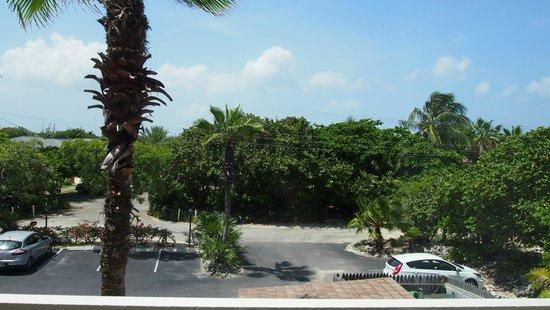 Cobalt Coast Grand Cayman Resort: view from bedroom of room 12