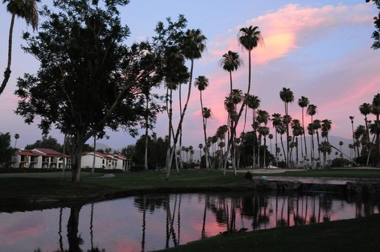 Omni Rancho Las Palmas Resort & Spa: sunset