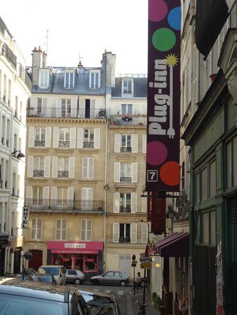 Plug-Inn Hostel: Rua do Hostel