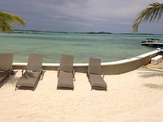 Exuma Beach Resort: View from Hooper Suite.