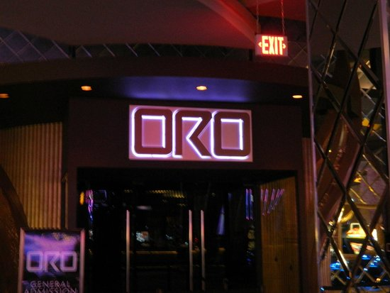 Hard Rock Casino Punta Cana : Entrance to Oro nightclub