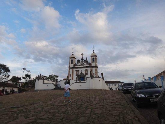 Bom Jesus do Congonhas : Fachada da igreja