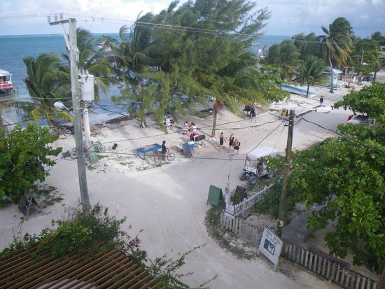 Caye Caulker : View from our Hotel