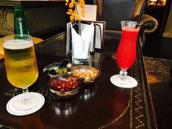 Sofitel Saigon Plaza : Welcome drinks